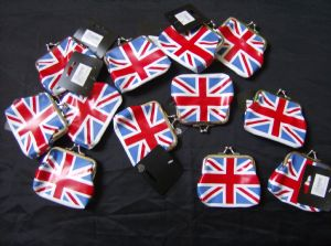 12 x small  union jack purses ideal for party bag fillers